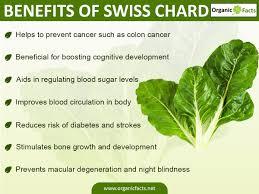 7 amazing benefits of swiss chard organic facts