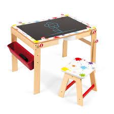 Holz Schreibtisch Janod 2 In 1 Schreibtisch Splash Aus Holz 09609 Pirum