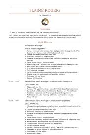 Sample Resume Of Sales Associate by Inside Sales Resume Samples Visualcv Resume Samples Database