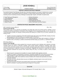 Project Manager Resume Tell The Company Or Organization Great Project Manager For Construction Company Project Manager