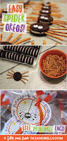 last minute halloween treats easy spider oreos taz and belly