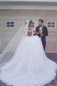 2017 v neck off shoulder wedding dresses lace ball gown bridal