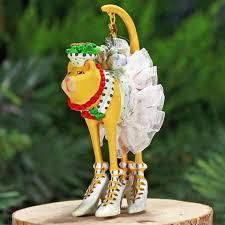 patience brewster mini buffy cat ornament
