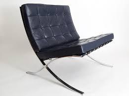 sedia barcellona sedia barcelona mr90 vintage di ludwig mies der rohe per knoll