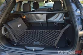 jeep wagoneer trunk 2014 jeep cherokee sport review video performancedrive