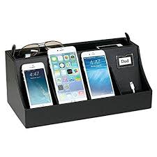 decorative charging station amazon com g u s 4 port usb cell phone charging station