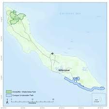 Map Curacao Curaçao Dcna