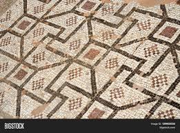 Ancient Roman Villa Floor Plan by Mosaic Floor Of Ancient Roman Villa With Ancient Geometrical
