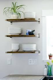 kitchen wall shelves ideas wall shelves for kitchen snaphaven
