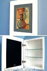 picture frame medicine cabinet hidden medicine cabinet exmedia me