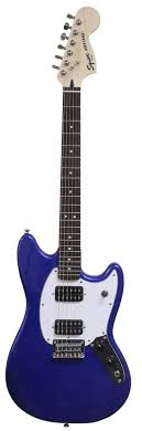 squire mustang squier bullet mustang hh imperial blue keymusic