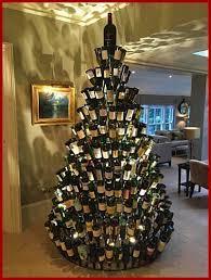 best 25 wine bottle christmas tree ideas on pinterest christmas