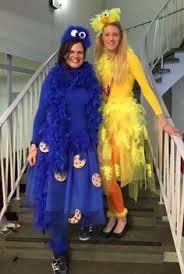 Cookie Monster Halloween Costume Adults Piper Cutest Halloween Costume Sesame Street