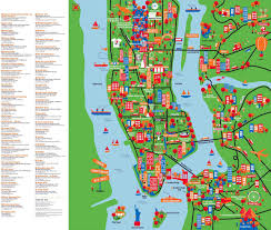 detailed map of new york new york state tourist attractions map large detailed new york