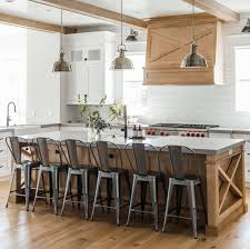 modern country kitchen with oak cabinets 35 amazingly creative and stylish farmhouse kitchen ideas