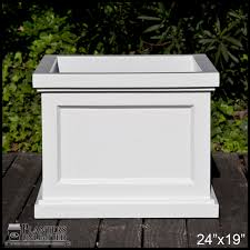 keswick square garden planters large patio planters for outdoor use