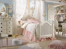 bedroom with ornate furniture and shabby chic bedding shabby