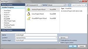 jni tutorial linux debugging the hello jni project with visual studio visualgdb tutorials