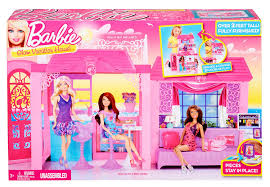 amazon com barbie glam vacation house toys u0026 games