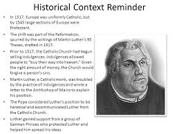 luther s martin luther s challenge ppt online