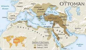 Present Day Ottoman Empire Maps 1 Middle East Ottoman Empire World