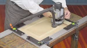 cabinet door router jig woodhaven mdf door kit youtube