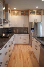 kitchen gorgeous kitchen decoration with white light maple