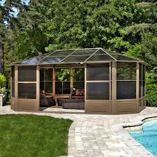 Bbq Gazebo Walmart by Shop Gazebos At Lowes Com