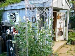 a tour of my friend bev u0027s garden u2013 red garden clogs