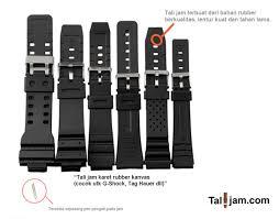 Jam Tangan Casio Karet talijam aneka tali jam lengkap berkualitas terjangkau jual