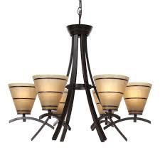 Home Depot Bronze Chandelier Kenroy Home Wright 6 Light Oil Rubbed Bronze Chandelier 90086orb