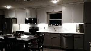 home depot kitchen cabinet lighting commercial electric 24 in led white direct wire