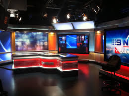 News Studio Desk by Seven 17 Bourke A Visit To The Channel Nine Studio The Red And