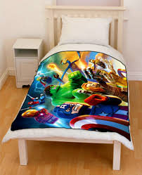 Marvel Bedding Marvel Heros Bedding Lego Superheroes Avengers Bedding Throw