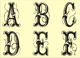 free monogram templates free monogram stencils printable