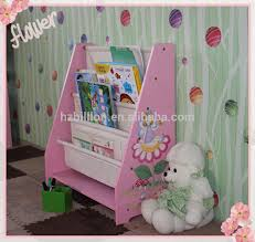 Display Bookcase For Children Fashion New Product Multifunctional Wooden Kids Bookshelf With