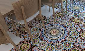 Mosaic Floor L Vinyl Sheet Flooring Mosaic Pattern Wooden Floor Info