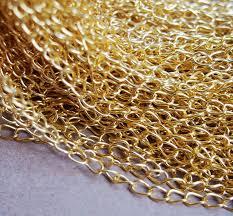 gold necklace wholesale images Diy craft supplies chain gold wholesale pure brass bracelet jpg