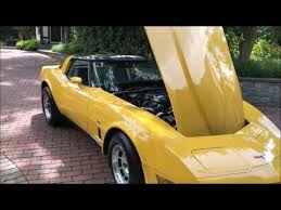 1980 corvette yellow 1980 corvette t top for sale maryland collector low