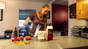 fall craft plaster of paris gourds leaves and pumpkins youtube