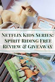 spirit halloween reviews netflix kids series spirit riding free review u0026 giveaway