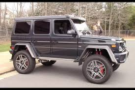 4x4 mercedes the mercedes g550 4x4 squared is a 250 000 german truck