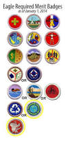 changes to eagle required merit badges scoutmastercg com