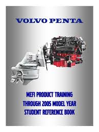 volvo penta mefi product training 2005 student reference book