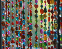 Beaded Window Curtains Beaded Curtainglass Beaded Suncatcher Window Curtain Beaded