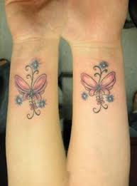 ankle bf tat butterfly tat