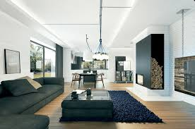 Large Modern Sofa Interior Design Ideas - Modern residential interior design