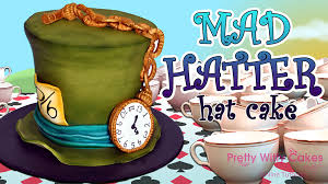 Mad Hatter Decorations Mad Hatter Hat Cake Project Online Cake Decorating Tutorials