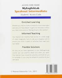 mel speakout intermediate standalone eso amazon co uk frances