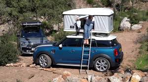 mini camper van mini turns countryman into a campervan youtube